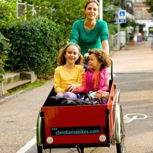 Cool things to do in Copenhagen with kids _cargo bike